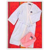 TOWELSolid Color Towel Bathrobe with Piping 【Coding of Commodity:】JB_YSYP002