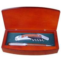 Buy cheap Wooden Gift Sets Gift SetItem No.:S130F-03Size:19.3*10.3*4cm product