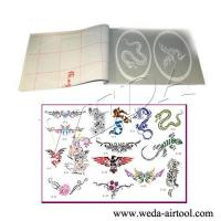 Buy cheap Airbrush Tattoo Stencil and Ink 6 product