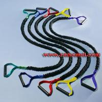 Buy cheap Gym Single Resistance bands With Nylon Sleeve Model:KM025 from wholesalers
