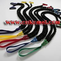 Buy cheap Gym Double Resistance Bands With Nylon Sleeve Model:KM024 from wholesalers
