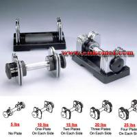 Buy cheap Gym Adjustable Dumbbell Model:KM019 product