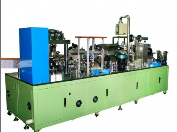 Quality button cell battery automatic producing equipment for sale