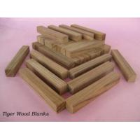 China Tiger wood pen blanks on sale