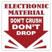 Buy cheap Electrostatic Warning Labels product