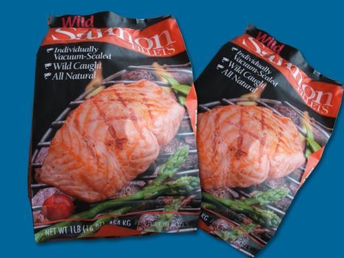 Quality Frozen Salmon Fish  Wild Alaska Salmon Fillets in Package for sale