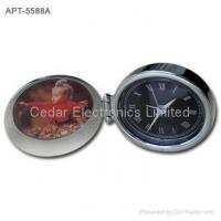 Buy cheap Metal Travel Clock with Mini Photo Frame product