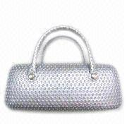 Buy cheap Eyeglass Case in Handbag Shape, Available in White and Black from wholesalers