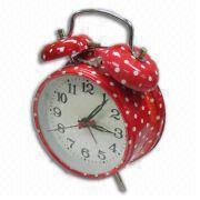 Buy cheap Alarm Clock with Flower Design Printing, OEM Orders Welcome from wholesalers