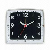 Buy cheap Quartz Alarm Clock, OEM Orders are Welcome, Measures 11 x 12 x 6cm from wholesalers