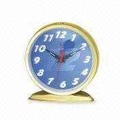 Buy cheap Alarm Clock with Metal Case, Measures 13.1 x 6.5 x 12.4cm, Customized Logos are Accepted from wholesalers