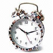 Buy cheap Alarm Clock with Glass Face, Customized Logos and Dials are Accepted, Measures 13.8 x 6.2 x 9.8cm product