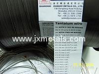 Buy cheap Tantalum wire per ASTM B365 product