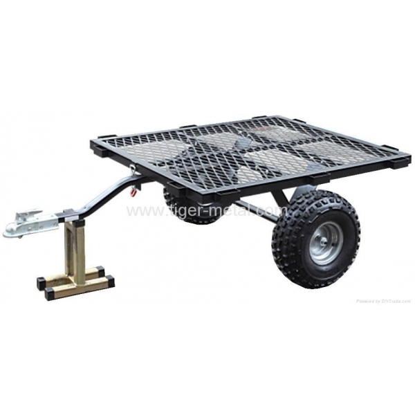 ATV Trailer with galvanization finished and trailer ramp