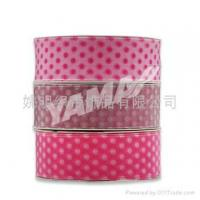 Buy cheap Sheer Printed Dot Ribbon Sheer Organza Petite Ribbon product