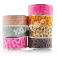 Buy cheap flower sheer ribbon product