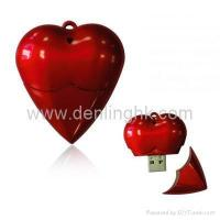Buy cheap Red Love Heart USB Flash Drive DLUP28 product