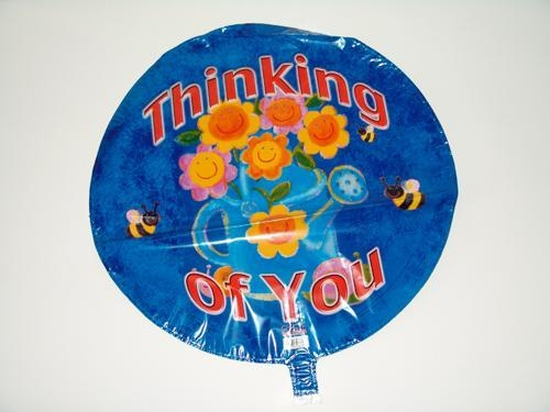 China think of you foil balloon