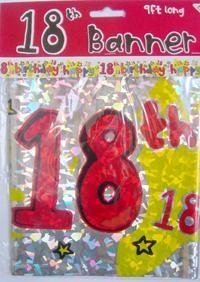 Quality 18th holographic banners for sale