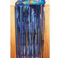Quality Foil shimmer curtains FSC-01 BLUE for sale