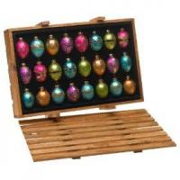 Buy cheap Gift Fashion Colors Glass Egg Ornaments from wholesalers