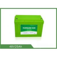 Buy cheap Lifepo4 Motorcycle Battery 48V 25Ah , Lithium Deep Cycle Battery TB4825F-M120A from wholesalers