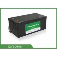 Buy cheap High Energy Density 300Ah 12v Battery Deep Cycle Pollution - Free from wholesalers