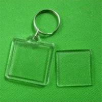Buy cheap Square Acrylic Blank keychain product