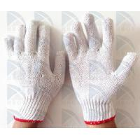 China Factory supply 30g Bleach White Cotton Glove with Low Price, High Quality, Fast on sale