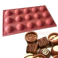 Buy cheap RENJIA silicone chocolate tray christmas chocolate tray silicone chocolate mold tray product