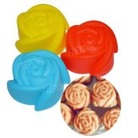 Buy cheap RENJIA silicone molds flower,mafen cup silicone cake mold,flowers silicone molds product