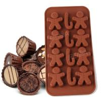 Buy cheap RENJIA chocolate mold tray shaped chocolate tray chocolate shapes silicone ice cube tray product
