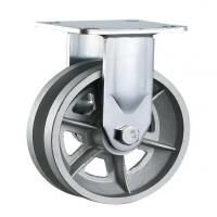 China heavy duty v grooved cast iron wheel caster gate wheels on sale