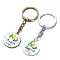 China Brazil Rio 2016 Olypmics Key Chains Memorable Silver Gold Souvenir Keyrings SK-039 on sale