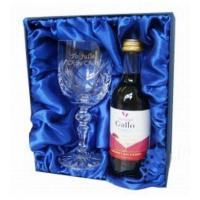 Buy cheap Anniversary Gifts Red Wine Crystal Goblet personalised set product