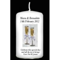 Buy cheap Anniversary Gifts Personalised Gift Wedding Candle, Engagement Candle, Anniversary candle product