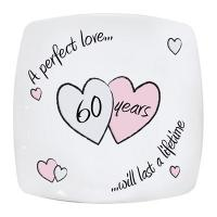 Buy cheap Anniversary Gifts Perfect Love Diamond Anniversry Plate product