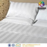 China Hotel Cotton Bed Linen Fabric on sale