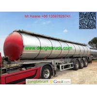 Buy cheap 3 axles pitch tanker semi trailer product