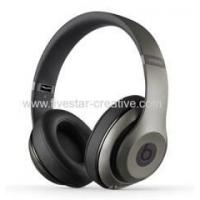China 2014 Latest Beats by Dr.Dre Studio Wireless Noise Cancelling Headphones Titanium on sale