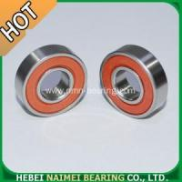 Buy cheap 6001 2RS Bearings Red rubber sealed product