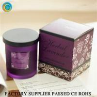 Buy cheap Flamless luxury soy scented candles glass jars product