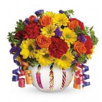 Buy cheap Birthday Teleflora's Brilliant Birthday Blooms.No.6 delivery birthday to product