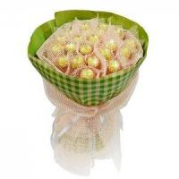 Buy cheap Birthday bouquet of 21 pieces of ferrero rocher NO.3 delivery birthday product