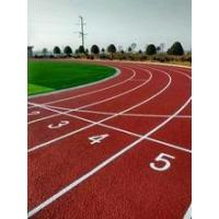 Buy cheap Polyurethane rubber running track Athletic track material Synthetic sport flooring surface product