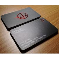 China XMT-P237 red foil stamping business card print & high class biz card on sale