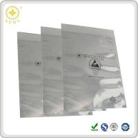 Buy cheap 3.1 Mil Open End Sealable EMI Aluminum Shielding Bags with Esd Warning Logo from wholesalers