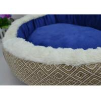 Buy cheap Cotton Dog Beds Round Detachable Wash Plush Puppy Bed product