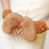 Buy cheap 100% Goat Leather Drop Shipping 2017 Fashion Women Leather Fingerless Gloves product