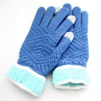 Buy cheap Autumn and Winter to Keep Warm Plush Gloves Touch Screen Women Acrylic Winter Gloves product